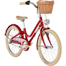 Creme Mini Molly 20'' Girls, red